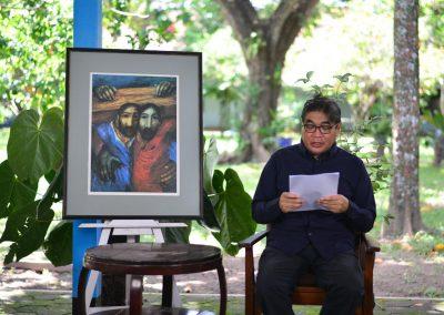Kontemplasi Kisah Sengsara bersama Romo G. P. Sindhunata, SJ dan para Frater Jesuit