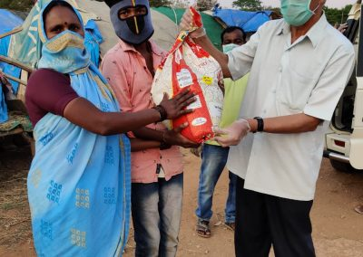 Bangalore: Mount Saint Joseph Covid Care Kit Relief Work