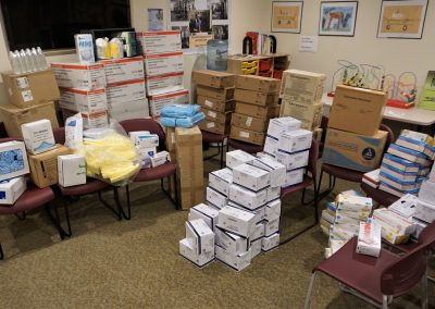 University of Scranton  Donates Needed Medical Supplies