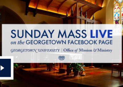 Sunday Mass Live from Dahlgren Chapel