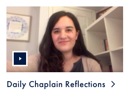 Daily Chaplain Reflections