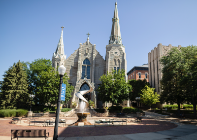 Livestream Masses from St. John's Parish on the Creighton University campus