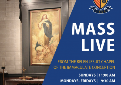 Daily Online Mass from Belen Jesuit Preparatory School (Miami, FL)