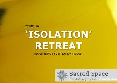 Ireland: Sacred Space COVID-19 'Isolation' Retreat