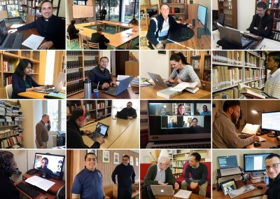 The challenge of online teaching at the Gregorian University
