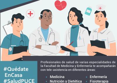 Salud PUCE Te acompaña