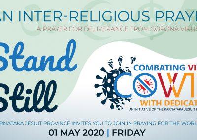 STAND STILL – An Inter-Religious Prayer
