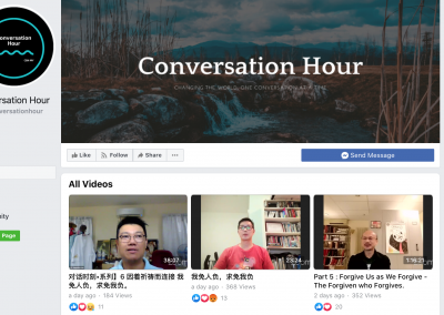 A virtual community for spiritual reflection and conversation in a time of social distancing from Malaysia